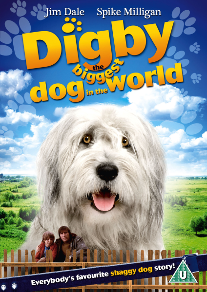 Digby The Biggest Dog In The World Dvd Zavvi