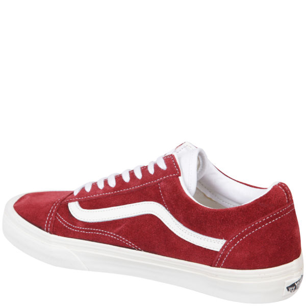 db1593f8ff Vans Old Skool Vintage Trainers - Rio Red  Image 2