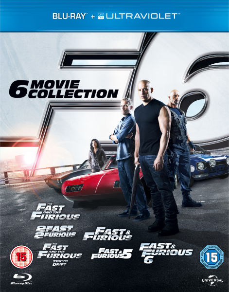 Fast and Furious: The 6 Movie Collection (Includes UltraViolet Copy)