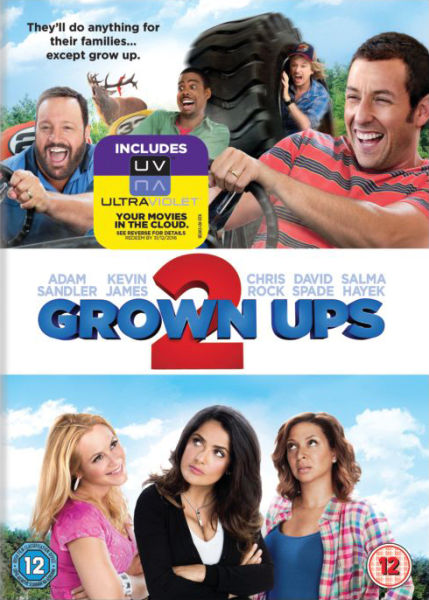 Grown Ups 2 (Includes UltraViolet Copy)