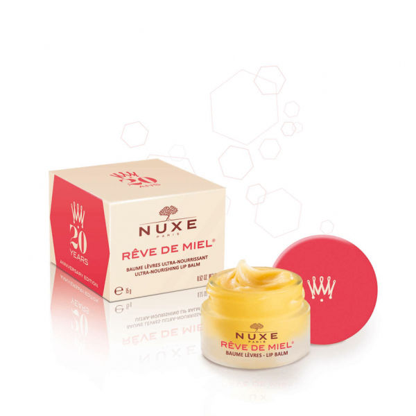 NUXE Reve de Miel Lip Balm  20th Anniversary - Red (15ml)