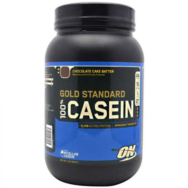 Optimum Nutrition Gold Standard 100% Casein - Chocolate, Tub, 908g