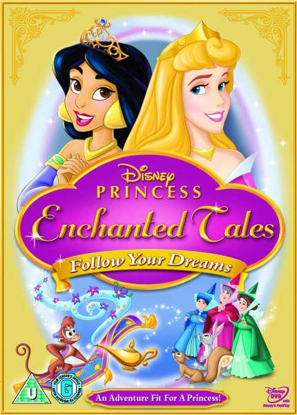Disney S Princess Enchanted Tales Follow Your Dreams Dvd