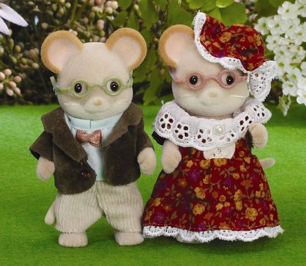 Toys For Grandparents House : Sylvanian families maces mouse grandparents toys zavvi