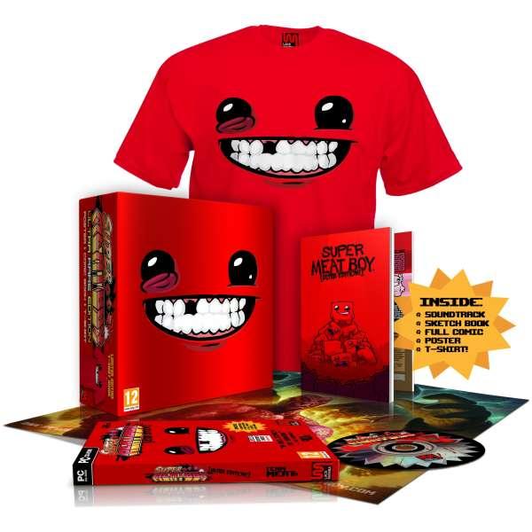 Super Meat Boy Rare Edition Includes T Shirt Pc Zavvi
