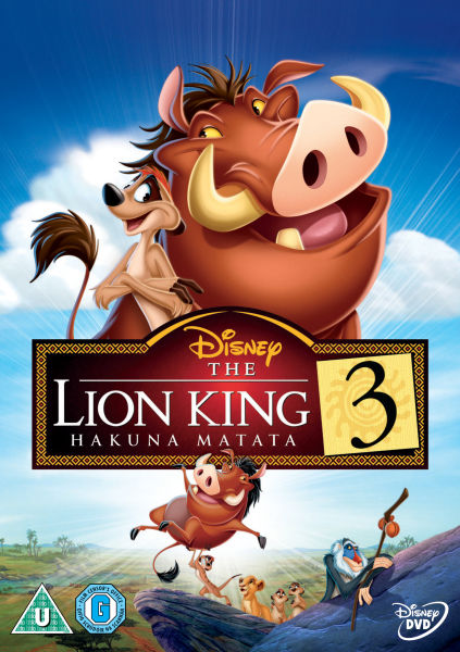 The Lion King 3: Hakuna Matata DVD | Zavvi.com