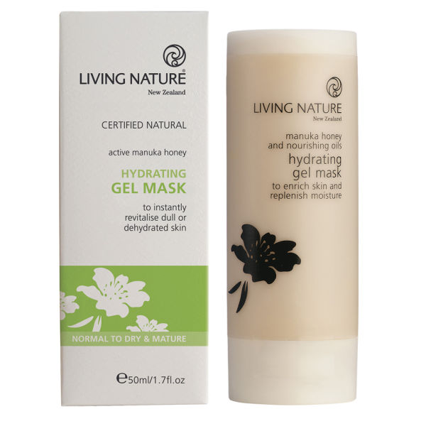Masque gel hydratant de Living Nature 50ml