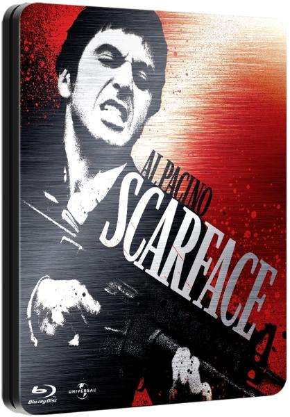 Scarface Limited Steelbook Edition Blu Ray Zavvi Com