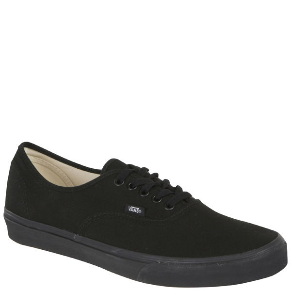 vans negras authentic unisex