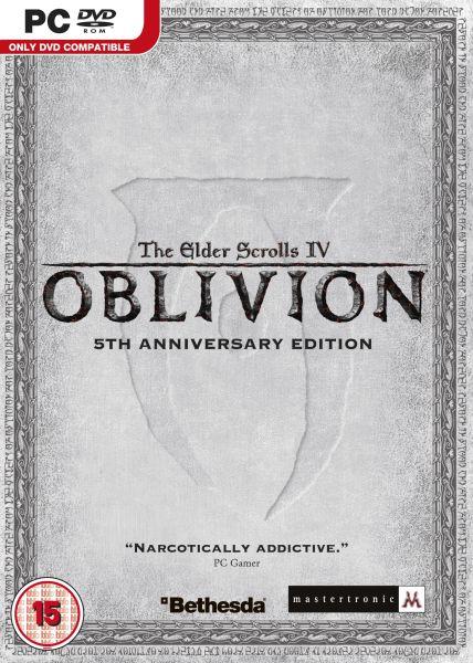 Elder scrolls iv oblivion 5th anniversary edition pc   zavvi us.