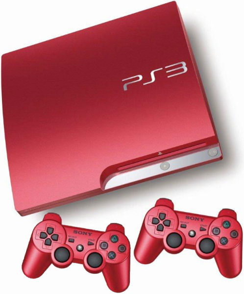 Free Ps3 Console: Playstation 3 Slim 320 GB Console: Limited Edition