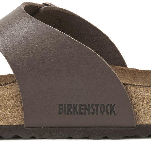 ec6fca000eca ... birkenstock men s ramses toe post sandals dark brown free uk ...