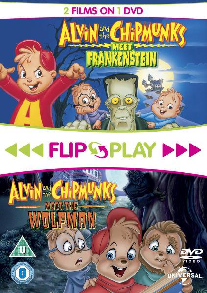 Alvin and the Chipmunks Meet Frankenstein / Alvin and the Chipmunks Meet the Wolfman (Flip and Play)