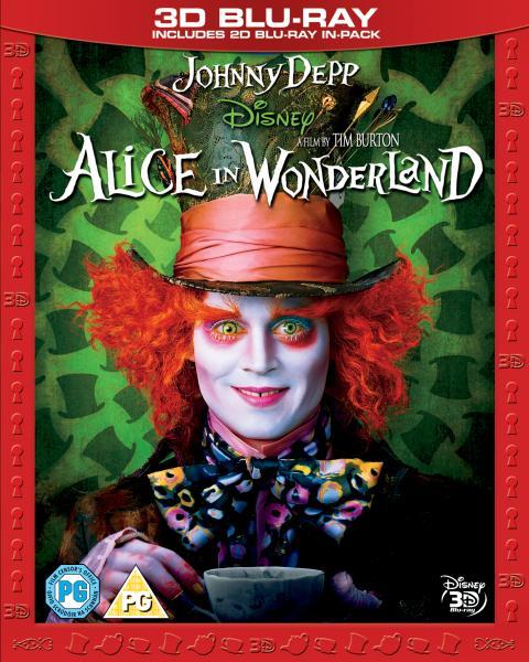 Alice in Wonderland 3D (Incldues 2D Version)