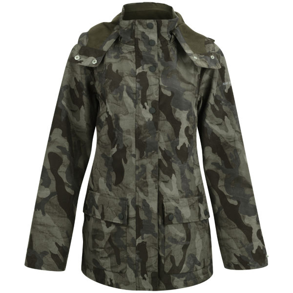 Camouflage Delivery Army Uk Raincoat Jacobsen Ilse Free Women's pqFwwgS