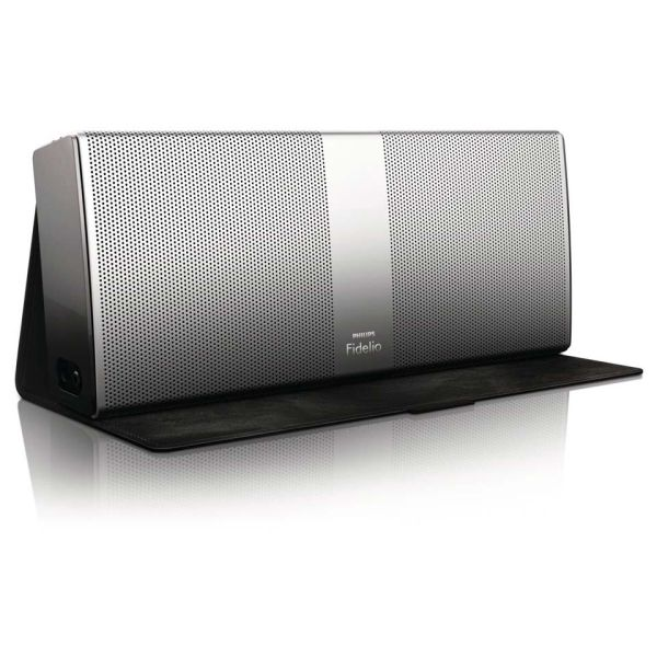 Philips Fidelio P9 Bluetooth Wireless Portable Speaker - Silver Electronics