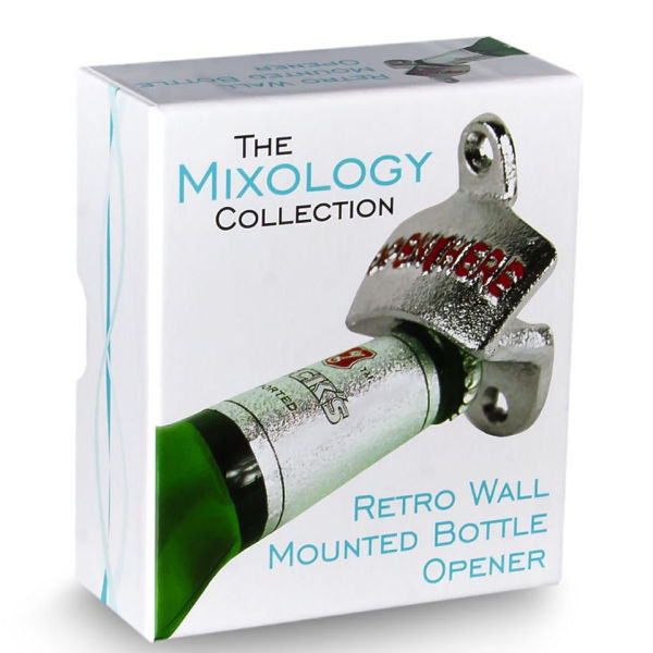 Wall Mount Bottle Opener - Great Gadgets | Pop In A Box US