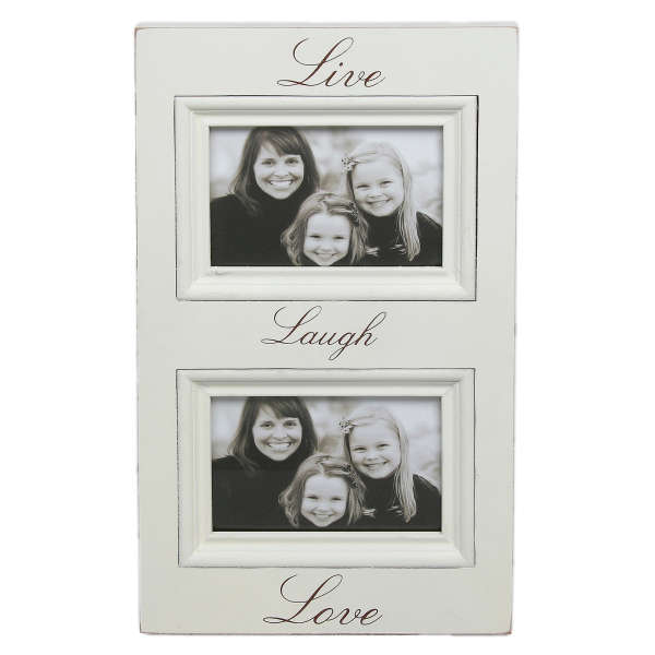 Home Style - Live, Laugh, Love Double Frame Traditional Gifts ...