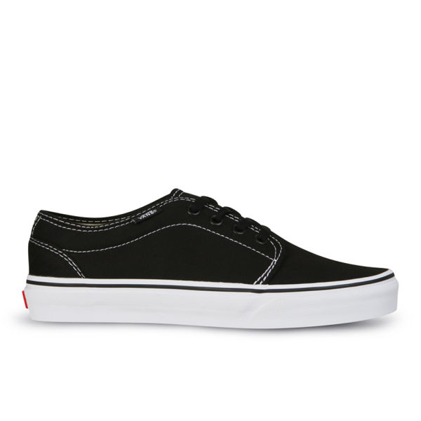 Vans 106 Vulcanized Canvas Trainers - Black/White