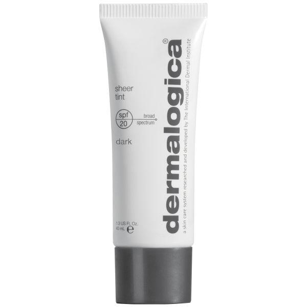 Crema Hidratante con Color FPS20 Dermalogica Sheer Tint - Oscuro