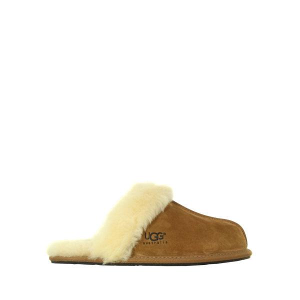 UGG Women's Scuffette II Slippers - Chestnut