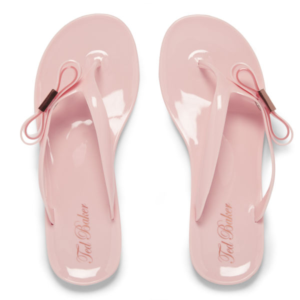 Ted Baker Women's Hatha Bow Flip Flops - Light Pink