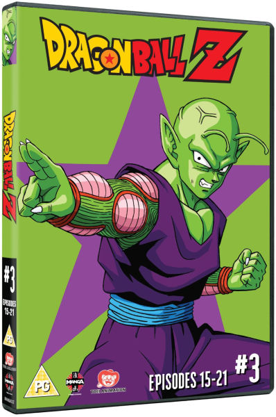 Dragon Ball Z - Season 1: Part 3 (Episodes 15-21)