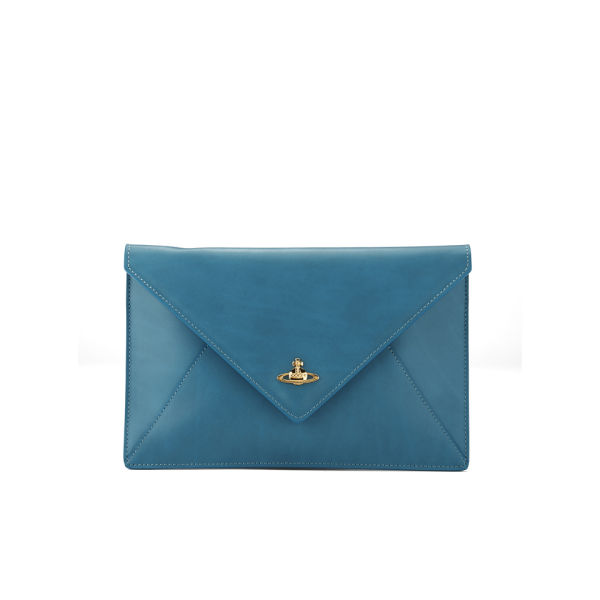 Buy Cheap Huge Surprise Blue leather clutch Vivienne Westwood Cool Stockist Online Clearance Popular Outlet Where To Buy ZQkicPPf