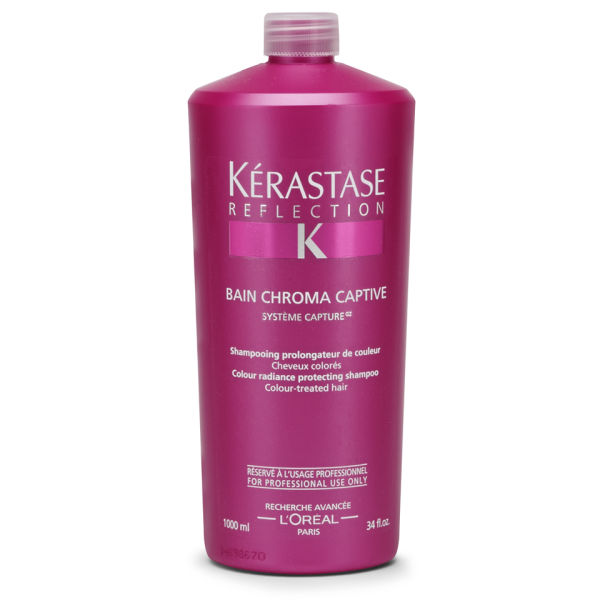 K rastase reflection bain chromacaptive 1000ml health for Bain miroir 1 kerastase