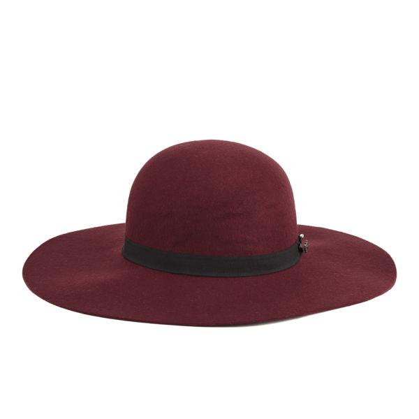 Maison Scotch Floppy Hat - Red