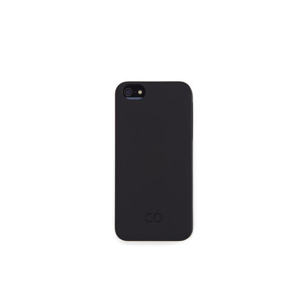 C6 Hard iPhone 5 Case - Black