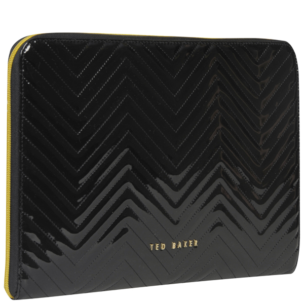 Ted Baker Lianna Quilted Laptop Sleeve Black
