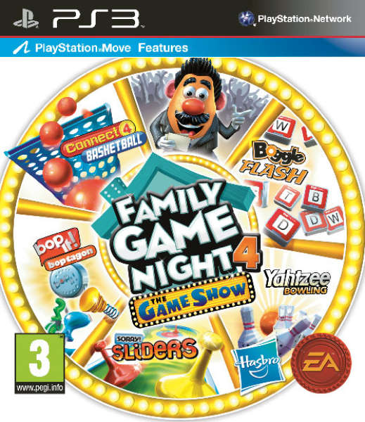 Family Games For Ps3 : Hasbro family game night the show edition ps