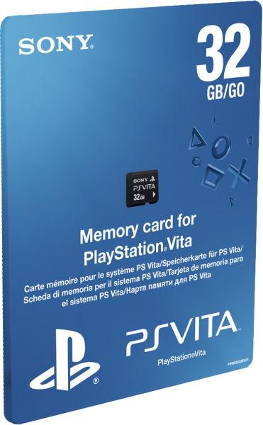 PS Vita Memory Card 32GB PS Vita accessories | Zavvi