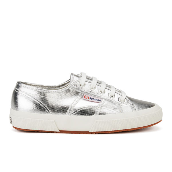 superga women 39 s 2750 cotmetu trainers silver free uk delivery over 50. Black Bedroom Furniture Sets. Home Design Ideas
