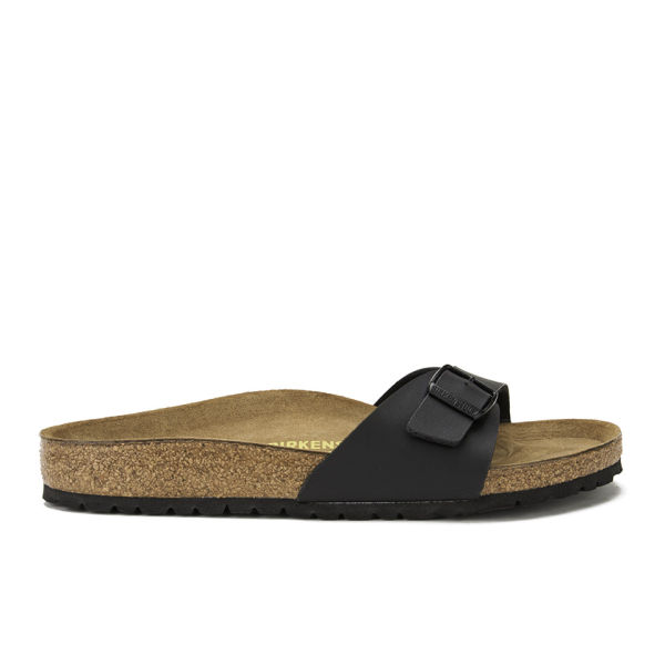 Birkenstock Women's Madrid Slim Fit Single Strap Sandals - Black