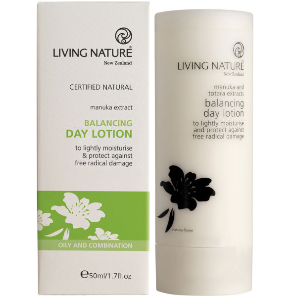 Living Nature Balancing Day Lotion (50ml).