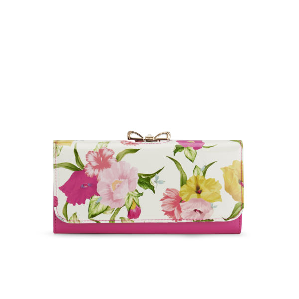 ted baker sienaa flowers at high tea matinee purse
