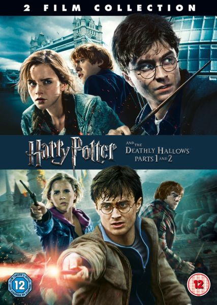 Harry Potter And The Deathly Hallows Parts 1 And 2 Dvd