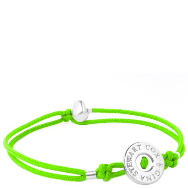 Gina Stewart Cox Nugget  Bracelet - Lime