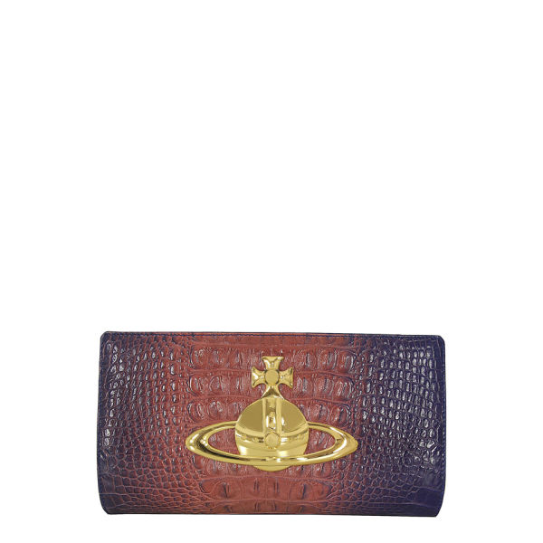 Vivienne Westwood - Accessories Women's 5783 Classic Orb Clutch Bag - Croc Pink