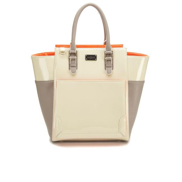 Paul s Boutique Melissa Patent Colour Block Wing Tote Bag - Ice Cream  Tropical  Image 1 1635059d342b4
