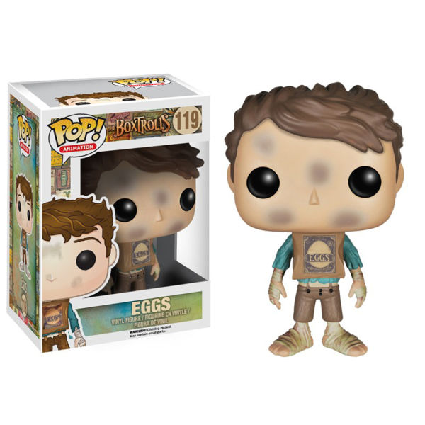 Boxtrolls Eggs Pop! Vinyl Figure