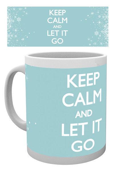 Keep Calm Let it Go - Mug