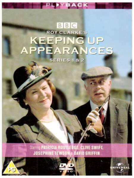 Keeping Up Appearances Series 1 And 2 Dvd Zavvi