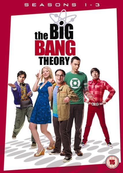The Big Bang Theory Seasons 1 3 Dvd Zavvi
