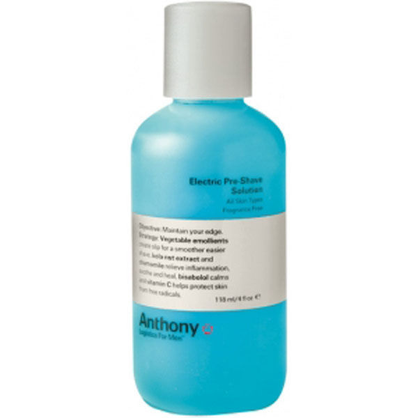 Anthony Electric Pre Shave Solution 118ml Free Shipping