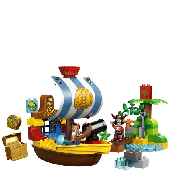 LEGO DUPLO: Jake and the Never Land Pirates: Jakes Pirate Ship Bucky (10514) | IWOOT