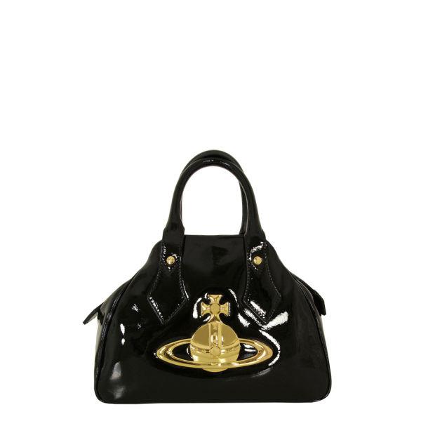 Vivienne Westwood - Accessories Women's 5778 Medium Classic Orb Jasmine Bag - Black