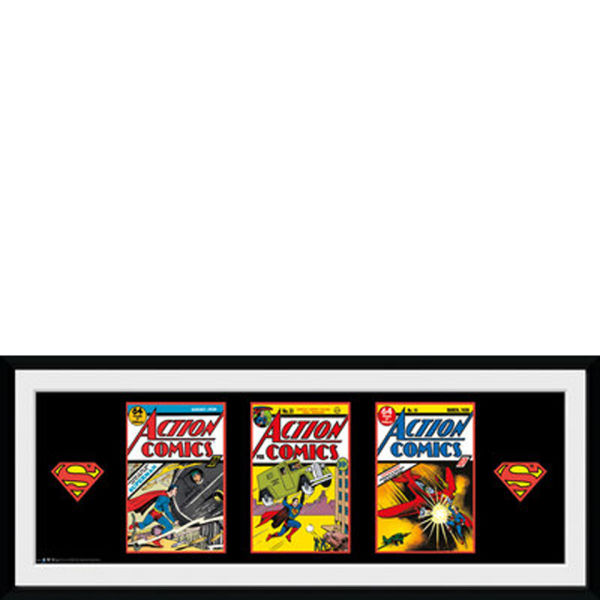 DC Comics Superman 3 Comics - 30x75 Collector Prints